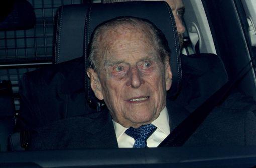 Britischer Prinzgemahl in Autounfall verwickelt
