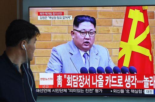 Friedenstauben in Korea