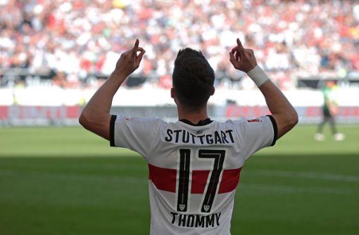 Erik Thommy über sein erstes Halbjahr beim VfB