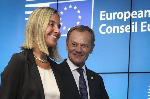 Spitzenämter für Tusk und Mogherini