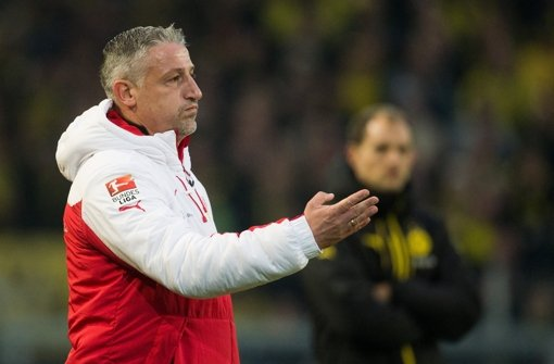 VfB-Interimstrainer Jürgen Kramny Foto: dpa