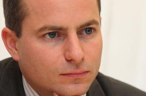 Wird Matthias Pröfrock wegen der Plagiatsvorwürfe sein Landtagsmandat abgeben? Quelle: Unbekannt