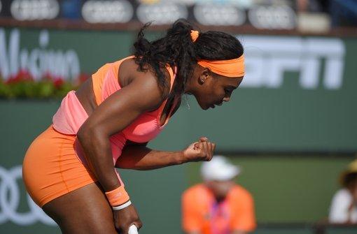 Alle dabei – bis auf Serena Williams