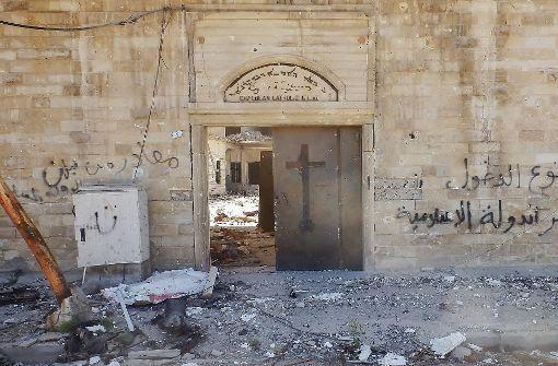 Der IS hat auch eine katholische Kirche zerstört. Foto: Becker