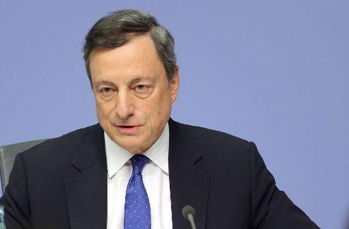 Korrigiert Draghi jetzt den EZB-Kurs?