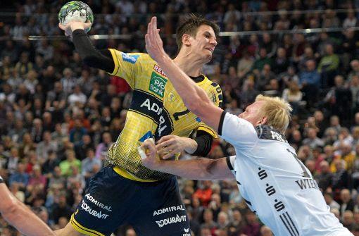 Rhein-Neckar Löwen gewinnen Handball-Gipfel in Kiel