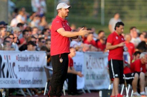 VfB-Test mit Baumgartl und Insua