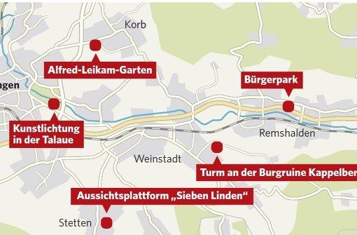remstalgartenschau im jahr 2019 gartenschauprojekte werden festgezurrt rems murr kreis. Black Bedroom Furniture Sets. Home Design Ideas