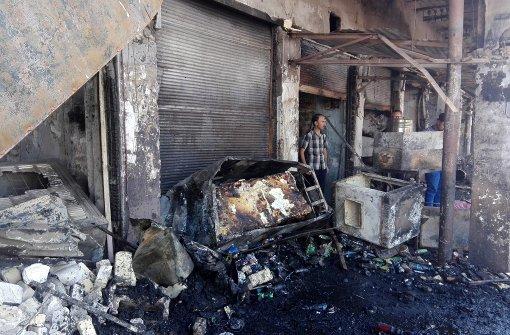 Viele Opfer bei Explosion einer Autobombe