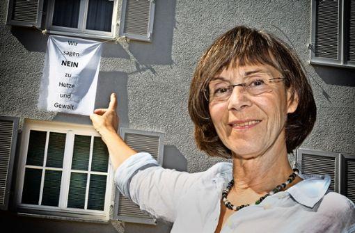 Bei Hetze und Gewalt kann Petra Güntert nicht länger tatenlos zu sehen. Foto: Horst Rudel