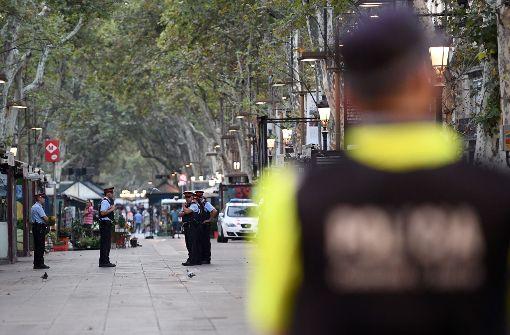 Las Ramblas nach Anschlag wieder geöffnet