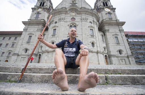 2116 Kilometer auf nackten Füßen