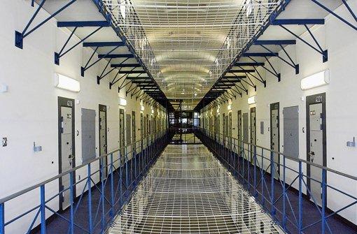 Gefängnis Bruchsal: Hier verhungerte im Sommer ein Häftling Foto: dpa