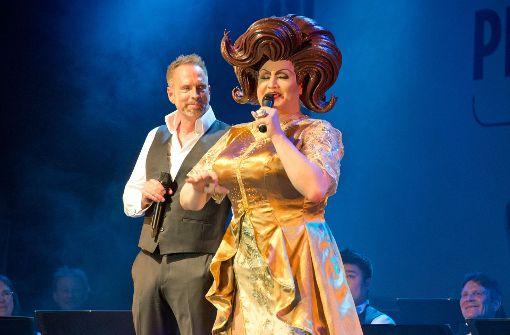 Der Musicalstar und das Fräulein.  Foto: Lichtgut - Oliver Willikonsky