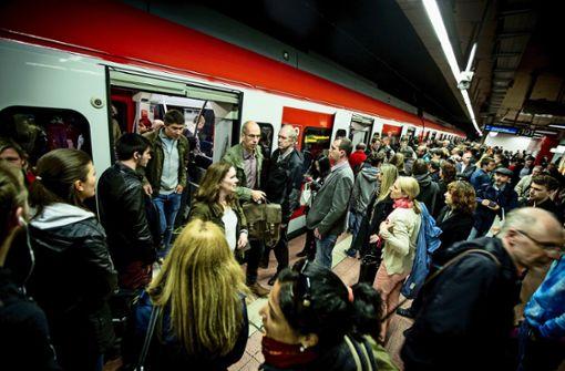Im Berufsverkehr hat jede fünfte Bahn Verspätung