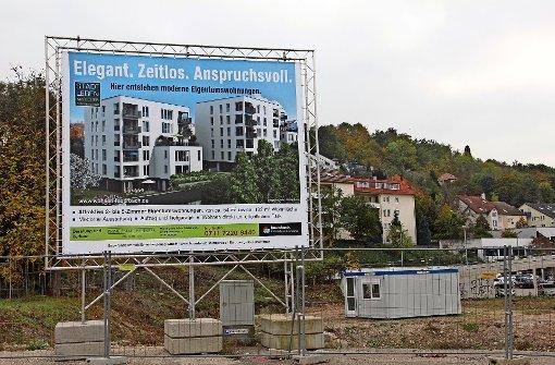 Auch auf dem ehemaligen Krempel-Areal entstehen  derzeit neue Wohnungen. Der Baubeginn war schon 2014. Foto: Georg Friedel (Archiv)
