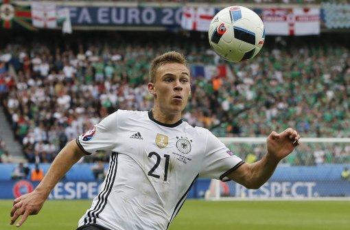Einer der jungen Wilden im DFB Team ist der 21-Jährige Joshua Kimmich aus Rottweil.  Foto: AP