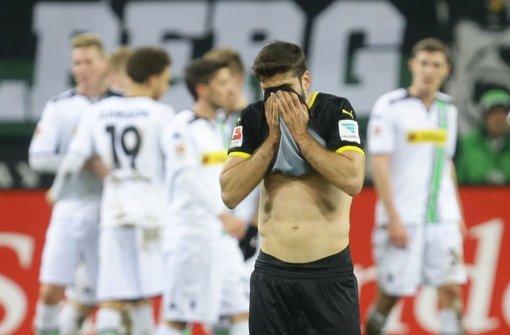 Der VfB Stuttgart zeigte heute in Mönchengladbach eine schwache Leistung. Unsere Noten für die Roten. Foto: Baumann