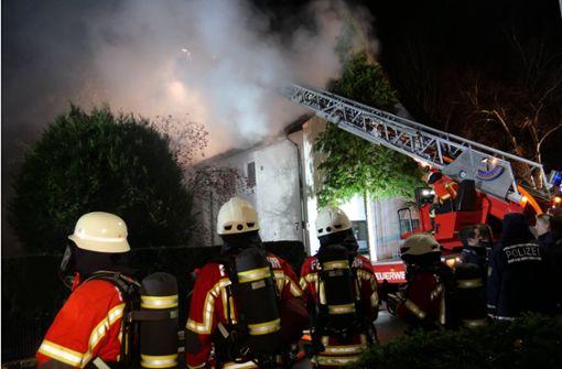 200000 Euro Schaden bei Brand eines Wohnhauses