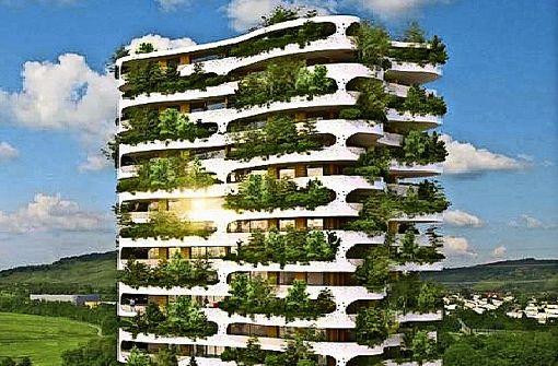 Gemeinderat kippt  grünes Hochhaus
