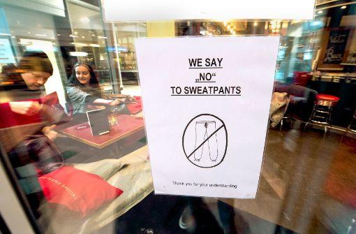 Das sagen Stuttgarter Gastronomen zum Jogginghosen-Verbot