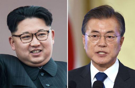 Historisches Treffen von Nord- und Südkorea