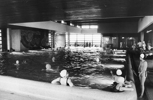 Das Mineralbad befand sich im obersten Stock des Kaufhauses.   Foto: Breuninger