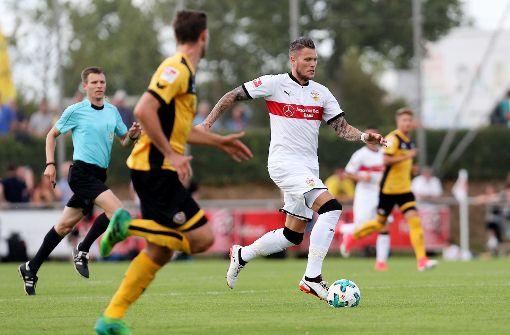 Daniel Ginczek hat seine lange Leidenszeit abgehakt und will beim VfB Stuttgart nun angreifen. Foto: Pressefoto Baumann