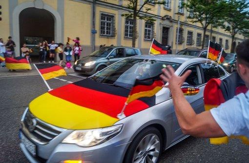 Kein Korso nach Deutschlandspiel