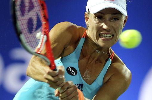 Kerber besteigt kampflos den Tennis-Thron