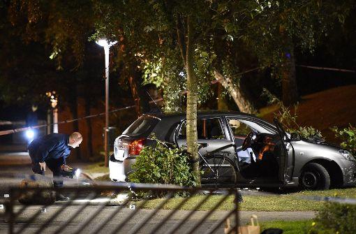 Junger Mann auf offener Straße erschossen