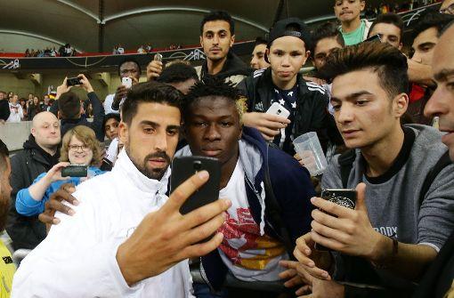 Wie Sami Khedira in Stuttgart die Fans glücklich macht