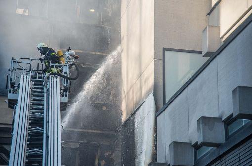Der Brand wurde gegen 17.38 Uhr gemeldet.  Foto: SDMG