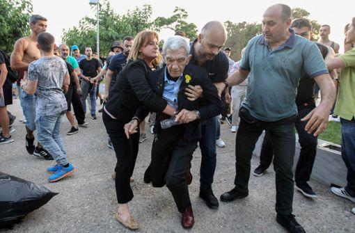 Mutmaßliche Rechtsextremisten festgenommen
