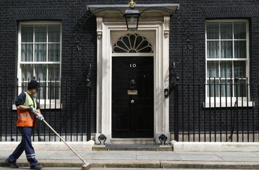 Wer zieht in die Downing Street?