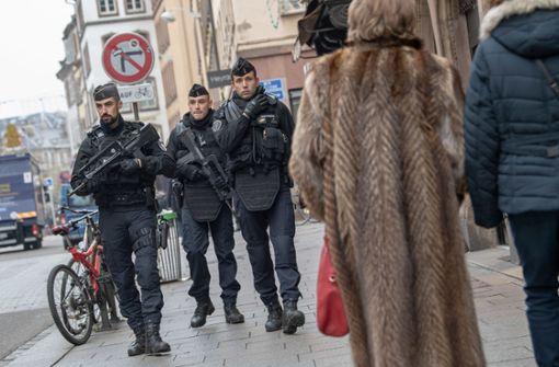 Höchste Alarmstufe in Straßburg - Täter weiter auf der Flucht