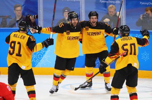Deutschland holt historische Silbermedaille im Eishockey