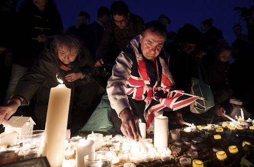 Tausende gedenken am Trafalgar Square der Opfer