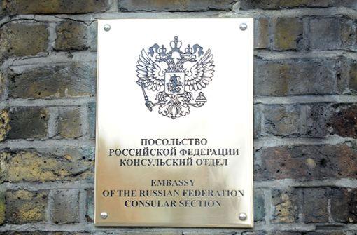 Die russische Botschaft in London verliert 23 Mitarbeiter. Foto: Press Association