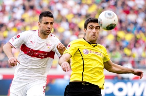 Der VfB verliert gegen Dortmund – dennoch gibt die Niederlage Anlass zur Hoffnung Foto: dpa