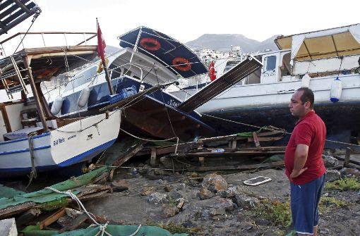 Tsunamis gibt es auch im Mittelmeer