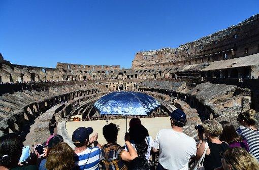 Das ehemalige Amphitheater ist ein beliebtes Touristenziel in Rom. Foto: AFP