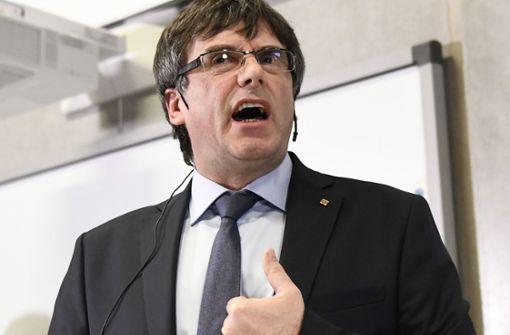 Katalanischer Separatistenführer wartet auf Entscheidung