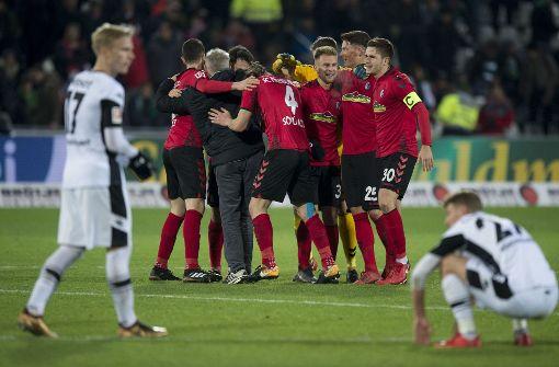 SC Freiburg schlägt auch Borussia Mönchengladbach