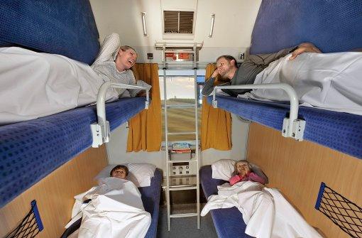 """Schlafend ans Ziel: Nachtzüge sind zwar ein wenig aus der Mode gekommen, haben aber immer noch gewichtige Führsprecher wie das Bündnis hinter dem Konzept """"LunaLiner"""". Foto: Deutsche Bahn"""