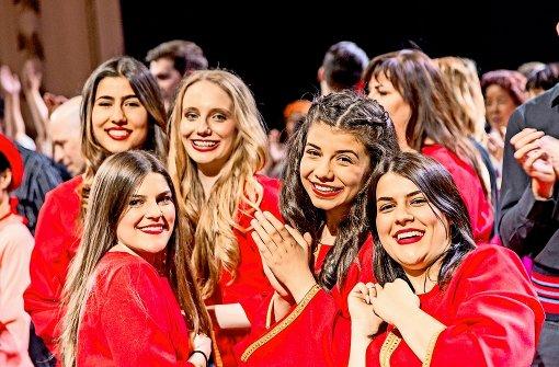 """Die Ethnogruppe Gora  erinnert entfernt an die bulgarischen Gesänge von """"Le Mystère des Voix Bulgares"""", die in den 1980ern weltweit große Erfolge in Europa feierten. Foto: Heinze"""