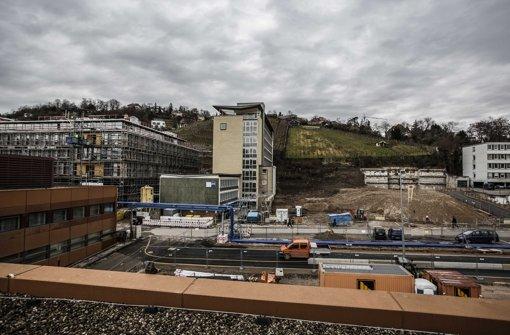 Der Altbau der IHK in der Bildmitte soll fallen Foto: Leif Piechowski