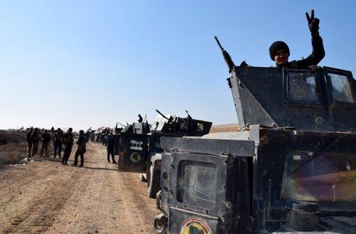 Irakische Armee rückt in Stadtzentrum von Ramadi vor