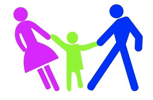 Nach der Trennung der Eltern beginnt oft das Gezerre um den Nachwuchs. Foto: Fotolia