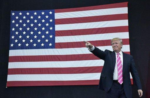 Trump geht auf Abstand zu Rechten